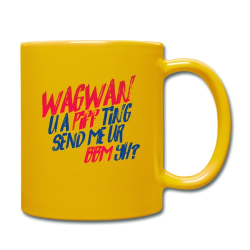 Wagwan PiffTing Send BBM Yh? - Full Colour Mug