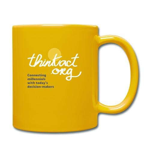 Taza amarilla ThinkAct - Taza de un color