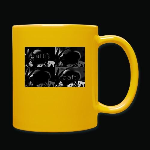 black bafti crew - Ensfarvet krus
