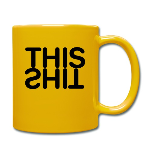 THIS Black - Taza de un color