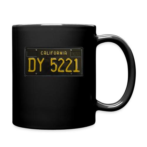 CALIFORNIA BLACK LICENCE PLATE - Full Colour Mug