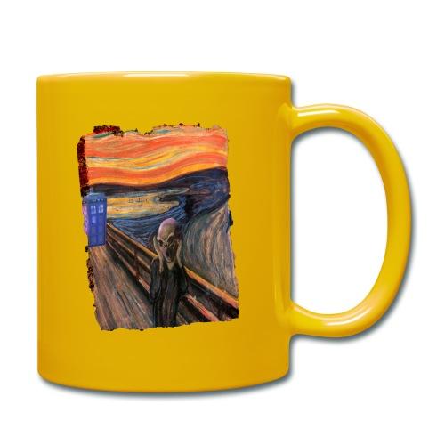 Screaming Tardis - Full Colour Mug