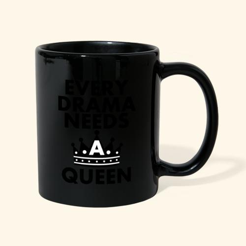 EVERY DRAMA black png - Full Colour Mug