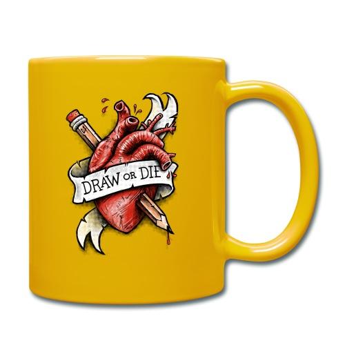 Draw or Die - Full Colour Mug