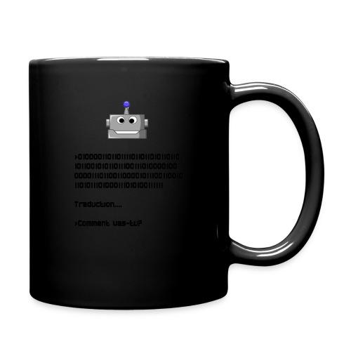 Salutation robotique - Mug uni
