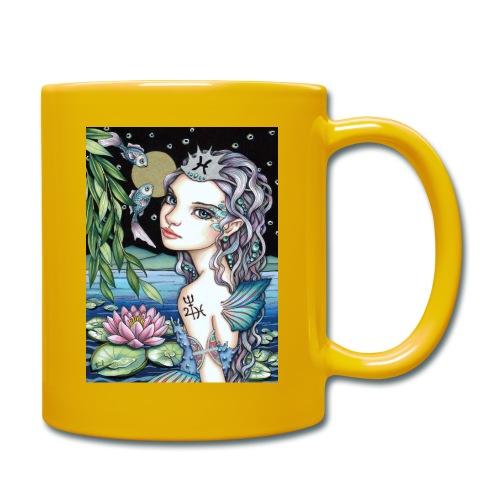 Pisces girl Fische Mädchen - Full Colour Mug