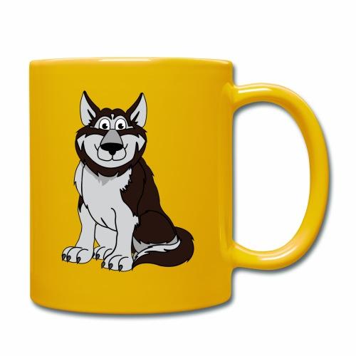 Husky - Tasse einfarbig