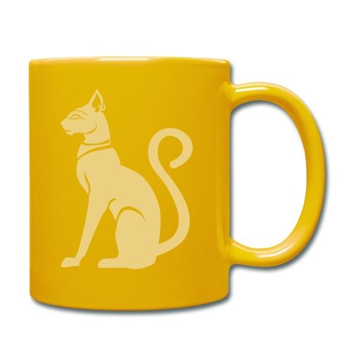 Bastet - Katzengöttin im alten Ägypten - Tasse einfarbig