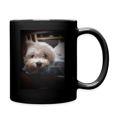 Pure White Pup - Full Colour Mug