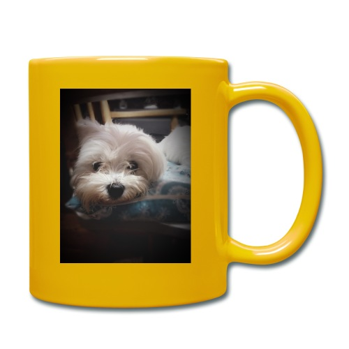 Pure White Pup - Full Colour Mug