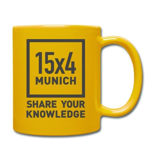 Share your knowledge - Tasse einfarbig