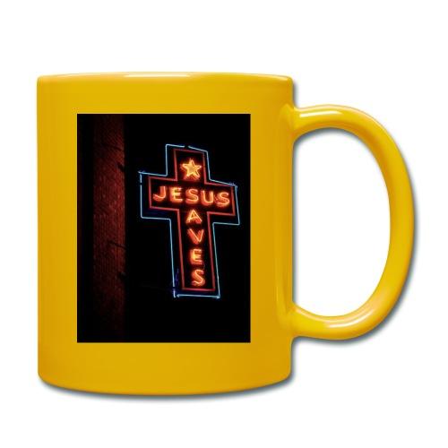 Jesus Saves - Full Colour Mug