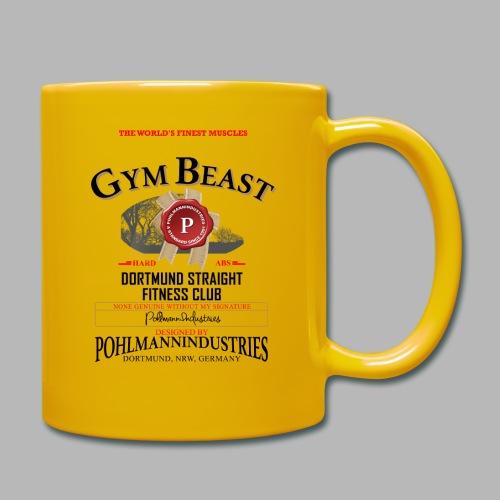 GYM BEAST - Tasse einfarbig