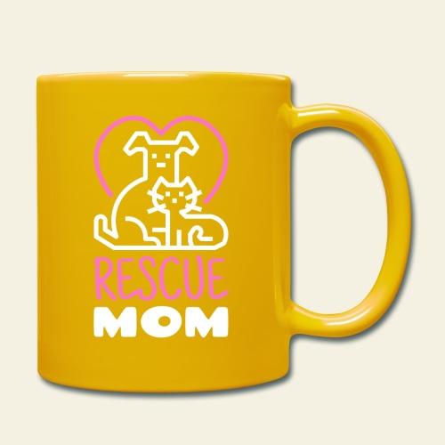 Rescue Mom - Yksivärinen muki