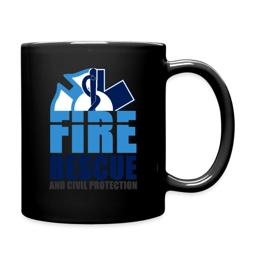 FIRE RESCUE and civil protection - Tasse einfarbig