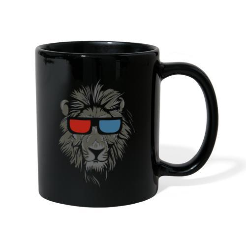 Lion 3D - Enfärgad mugg