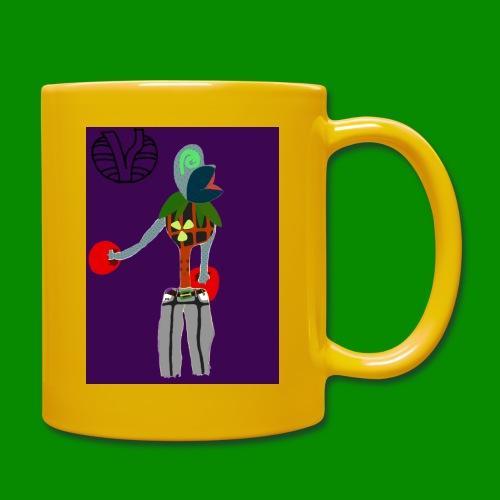 Cartoon Boxer - Enfärgad mugg