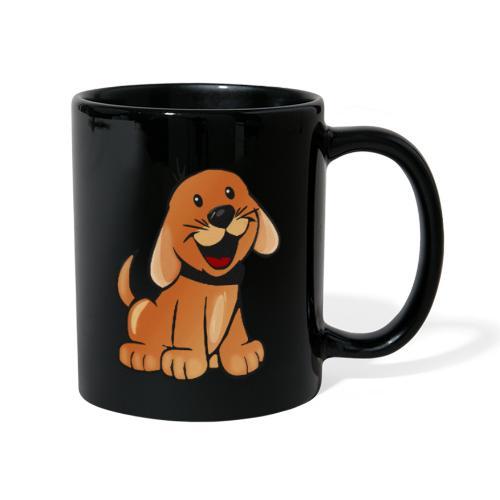 cartoon dog - Tazza monocolore