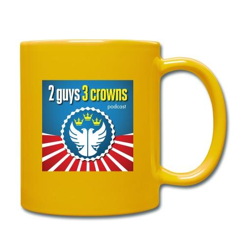 Official 2 Guys 3 Crowns Logo - Full Colour Mug