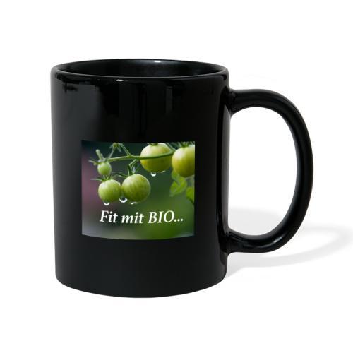 Fit mit BIO - Tasse einfarbig