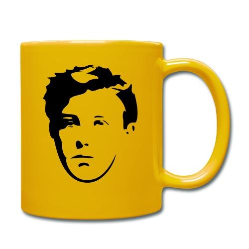 Arthur Rimbaud visage - Mug uni
