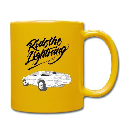 Delorean – Ride The Lightning - Tasse einfarbig