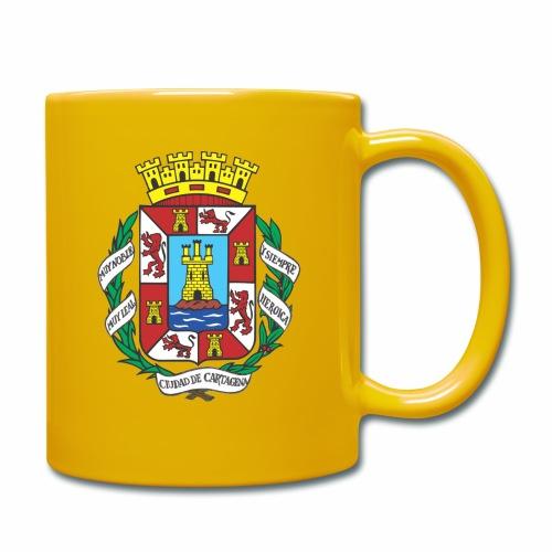 Escudo Cartagena - Taza de un color