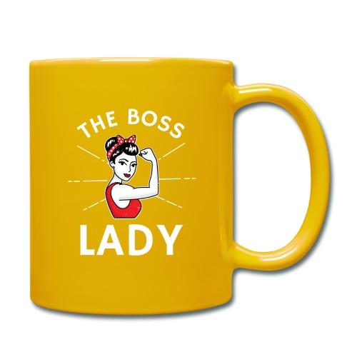 The Boss Lady - Yksivärinen muki