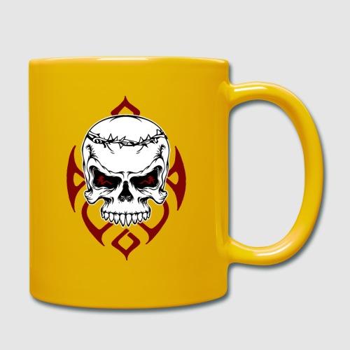 Totenkopf - Tasse einfarbig