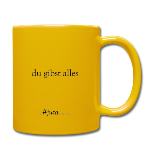 True Power #jura - Tasse einfarbig