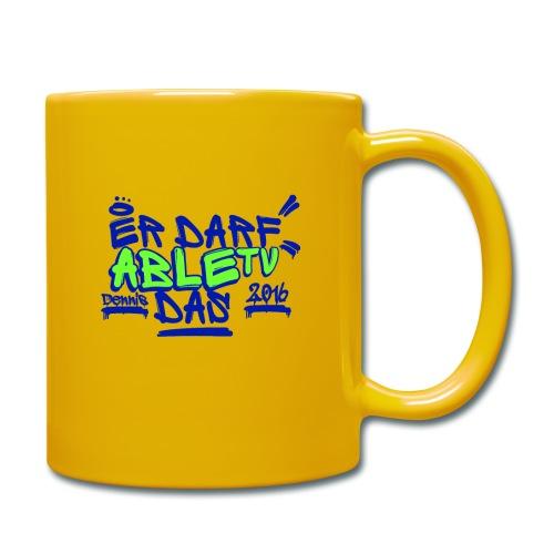 AbleTV Grafitti Logo Marken Shirt (Er Darf Das) - Tasse einfarbig