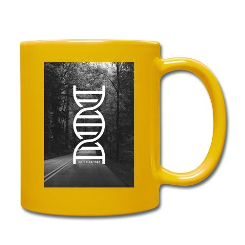 Fotoprint DNA Straße - Tasse einfarbig