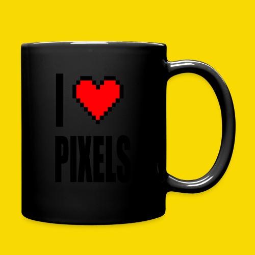 I Love Pixels - Kubek jednokolorowy
