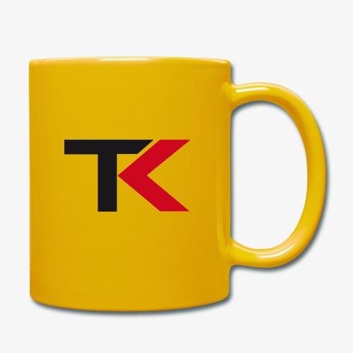 Logo TK neu v1 - Tasse einfarbig