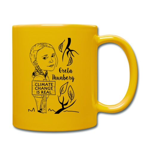 climate change is real - Full Colour Mug