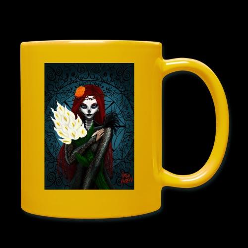 Death and lillies - Full Colour Mug