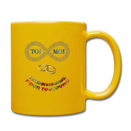 Toi et moi pour toujours - Mug uni