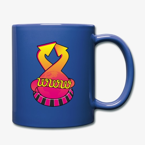 UrlRoulette logo - Full Colour Mug