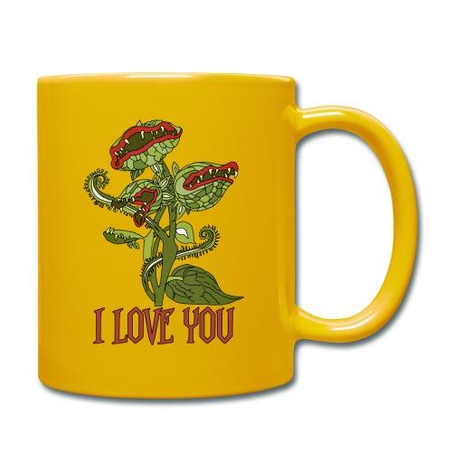 carnivorous plant - Tasse einfarbig