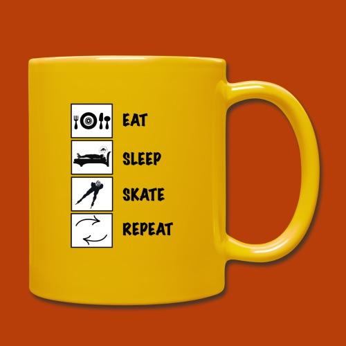 eat sleep skate 2 - Tasse einfarbig