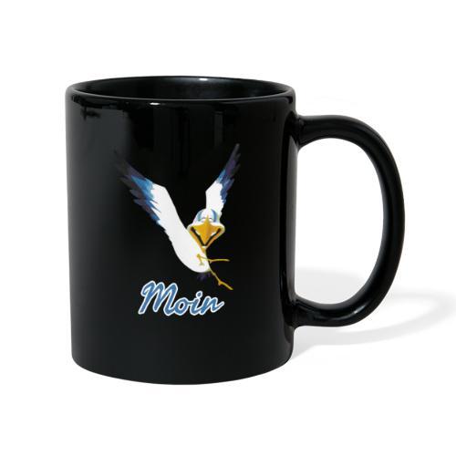 Moin Lachmöwe - Tasse einfarbig