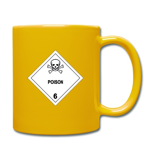 Poison Skull - Full Colour Mug