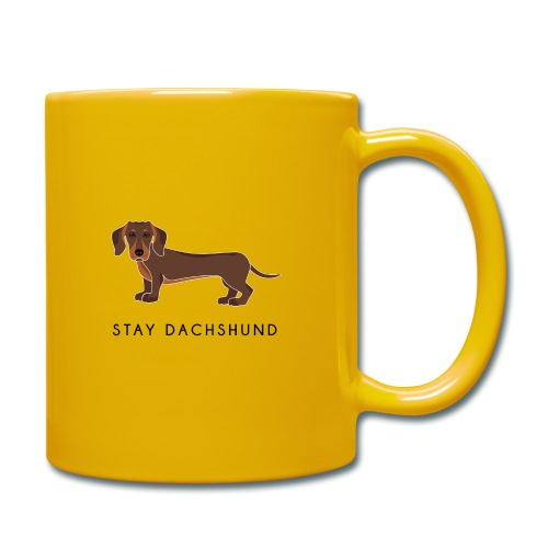 Dachshund Brown - Tazza monocolore