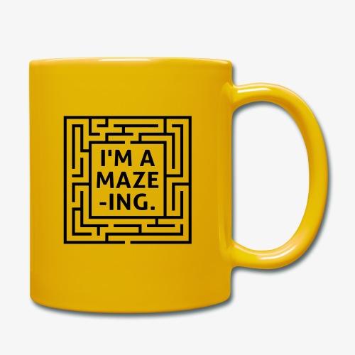 A maze -ING. Die Ingenieurs-Persönlichkeit. - Tasse einfarbig