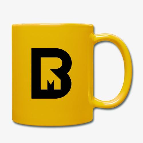 rotebu/messbooth sort logo - Ensfarget kopp