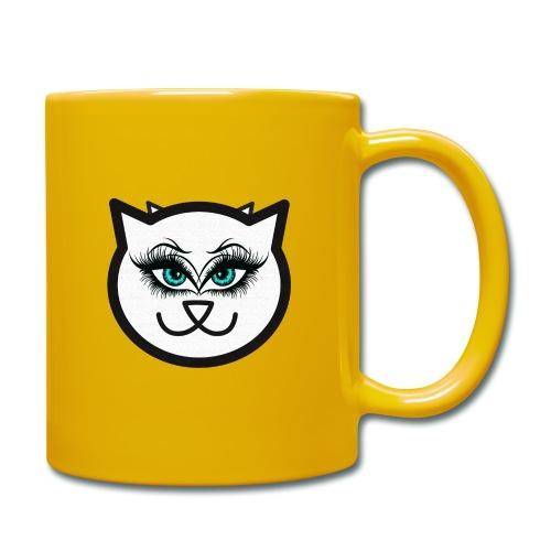 Hipster Cat Girl by T-shirt chic et choc - Mug uni