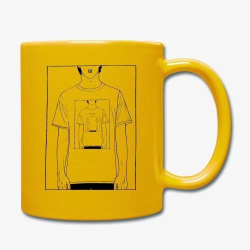 Recursion | Loop | Repeat design | Be creative - Full Colour Mug