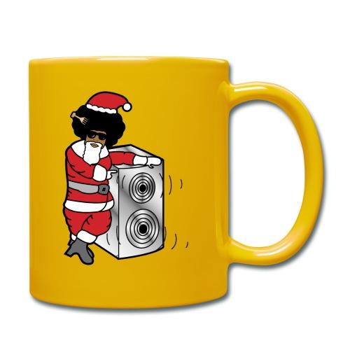 Afro Santa w/ Music Speaker - Full Colour Mug