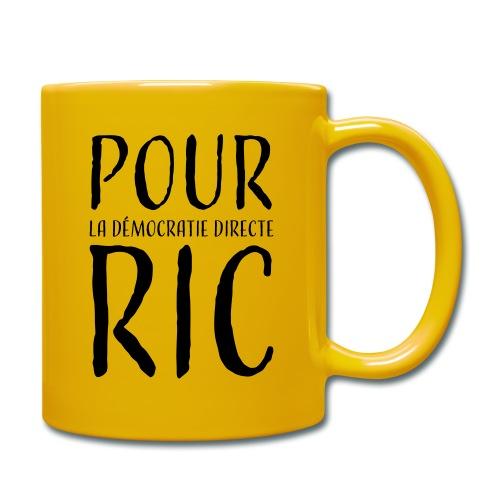 Pour une démocratie directe RIC, gilets jaunes - Mug uni