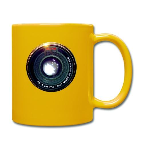 Vintage Pancake Lens - Tazza monocolore